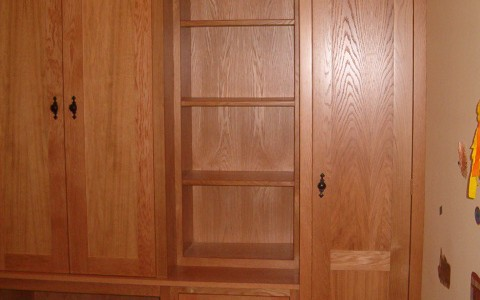 American white oak home study units