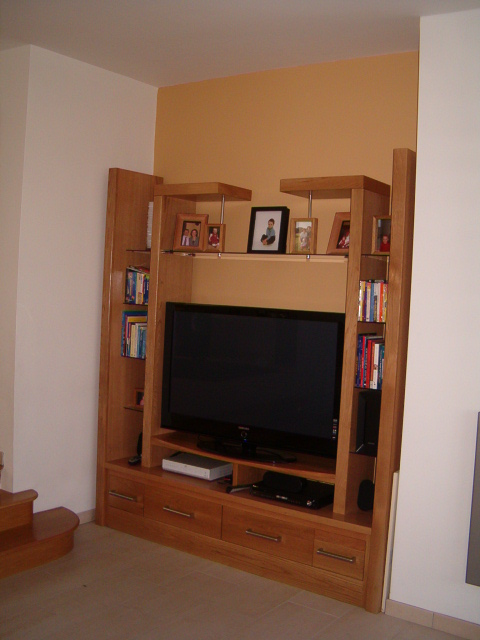 Great American White Oak Tv And Display Cabinet