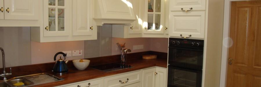 Painted kitchen - cream