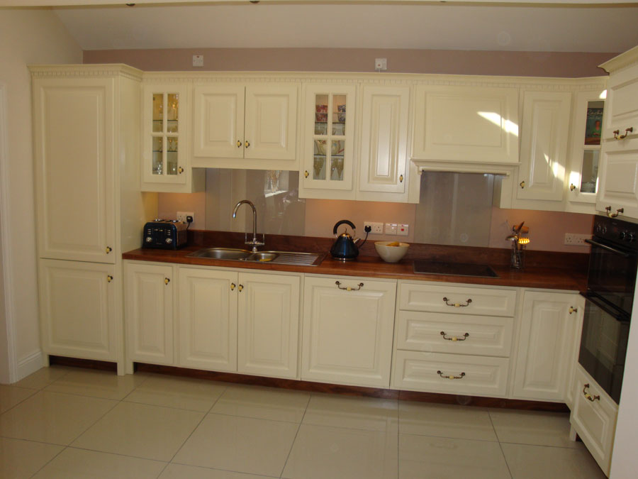 Painted Kitchen Cabinets Cream Quicuacom