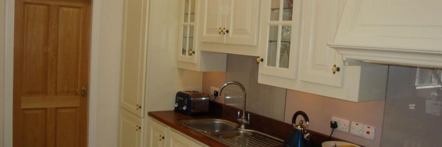 Kitchen design - European oak kitchen
