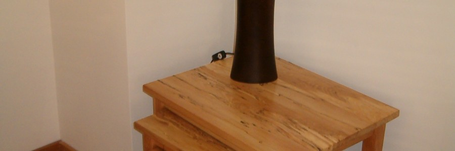 Irish Beech Nest of tables