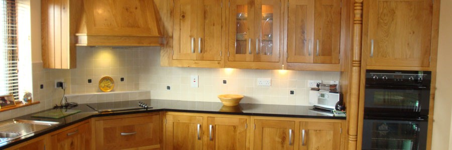 Kitchen design - Irish oak kitchen