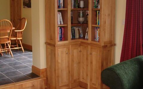 oak bookcase ireland 3