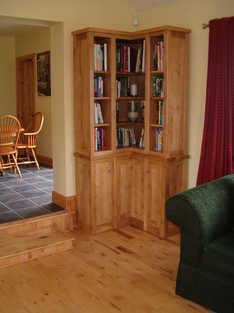 oak bookcase ireland 2