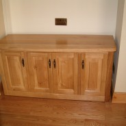 Irish oak side board