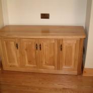 Irish oak side board