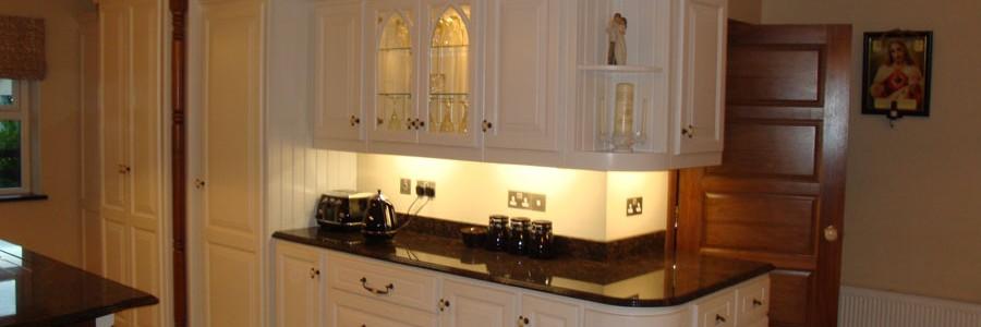 Painted kitchen, bespoke kitchen design Galway