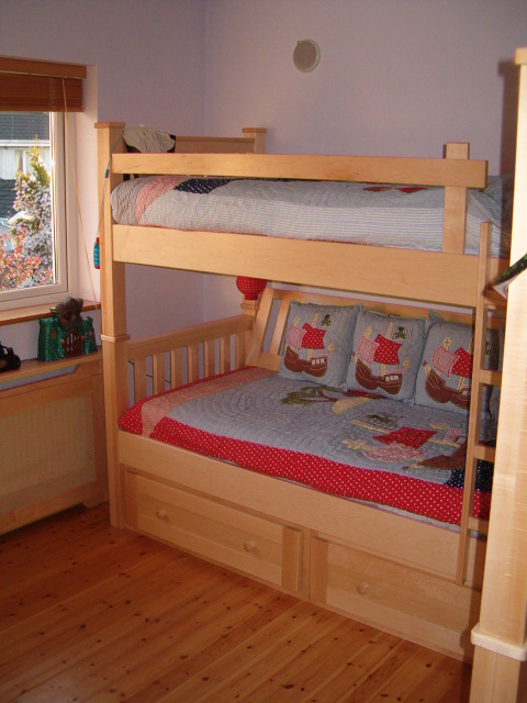 Maple Bunk Bed Handcraft Interiors